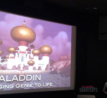 Bringing Genie to Life with Disney Animator Eric Goldberg #AladdinBloggers