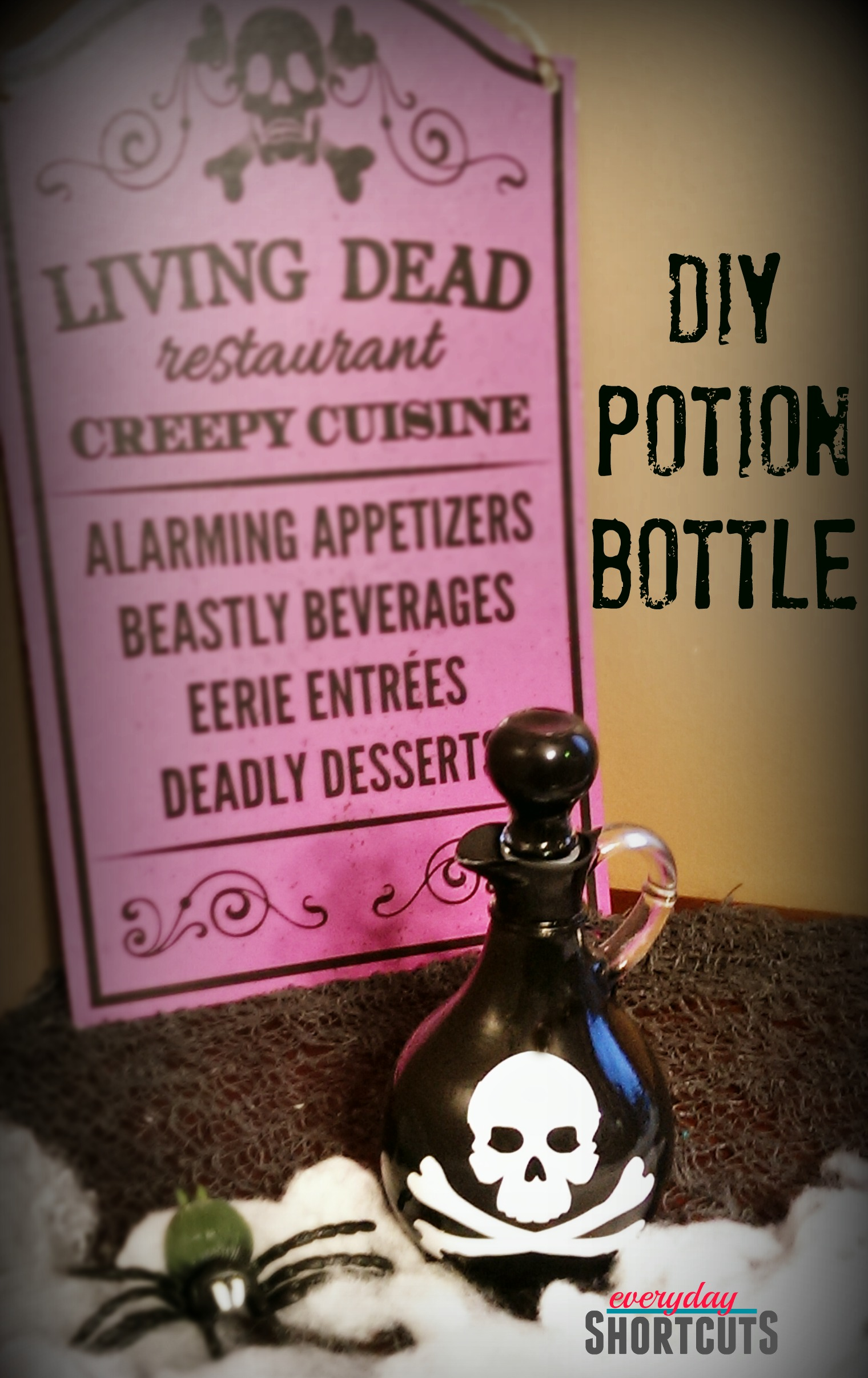 diy potion bottle