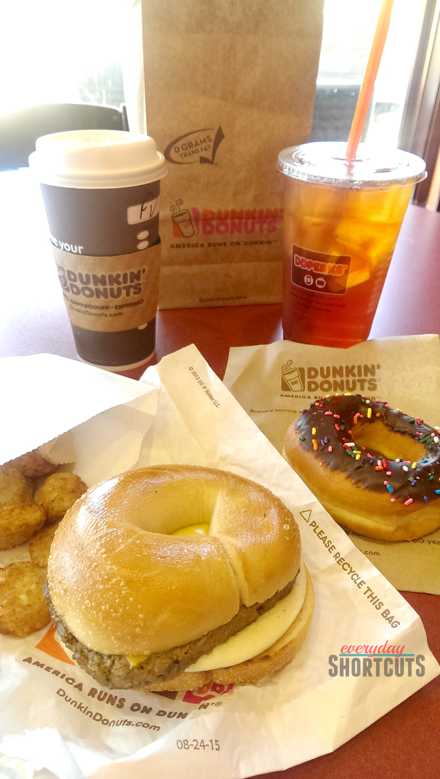 Dunkin Donuts Food Menu