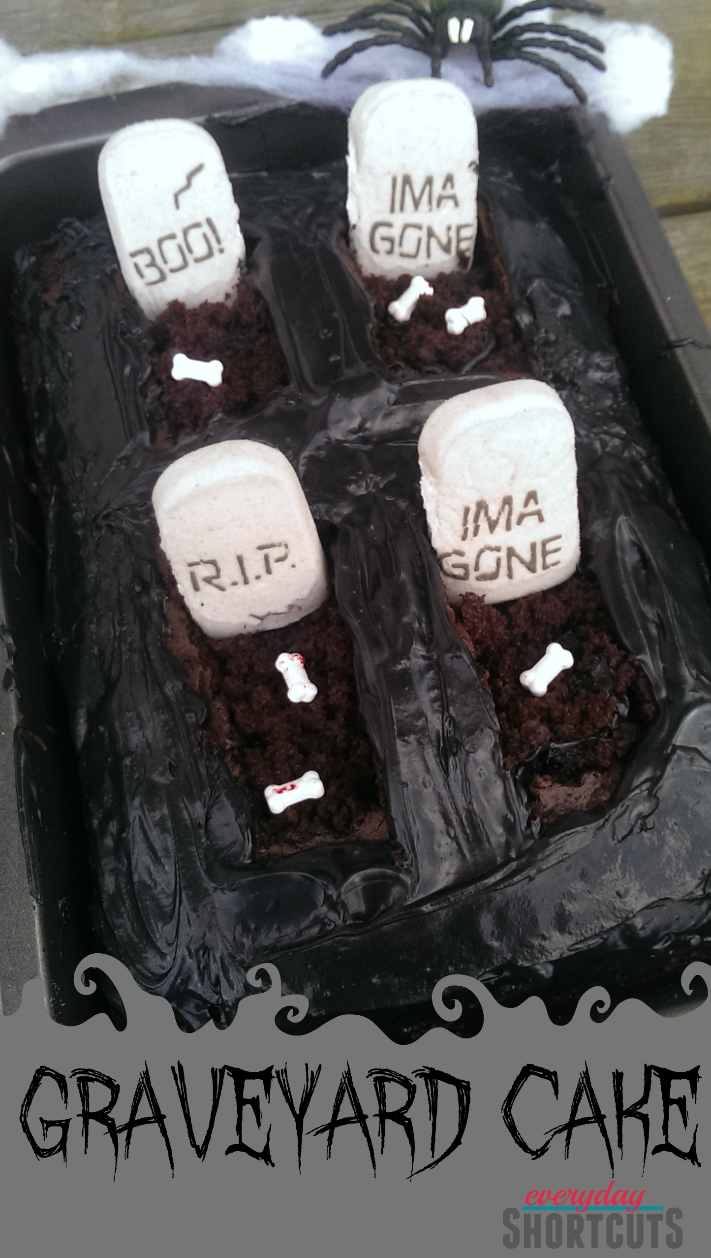 Chocolate Graveyard Cake Recipe