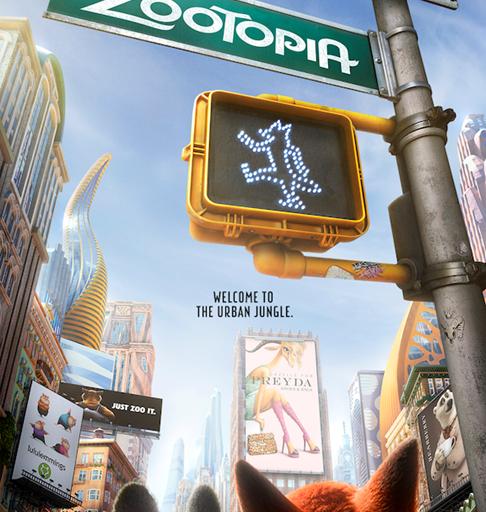 Disney's ZOOTOPIA New Poster & Teaser Trailer