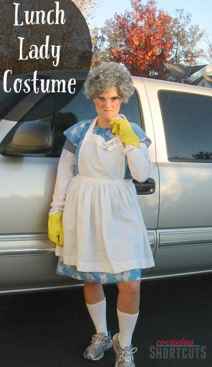 lunch lady halloween costume