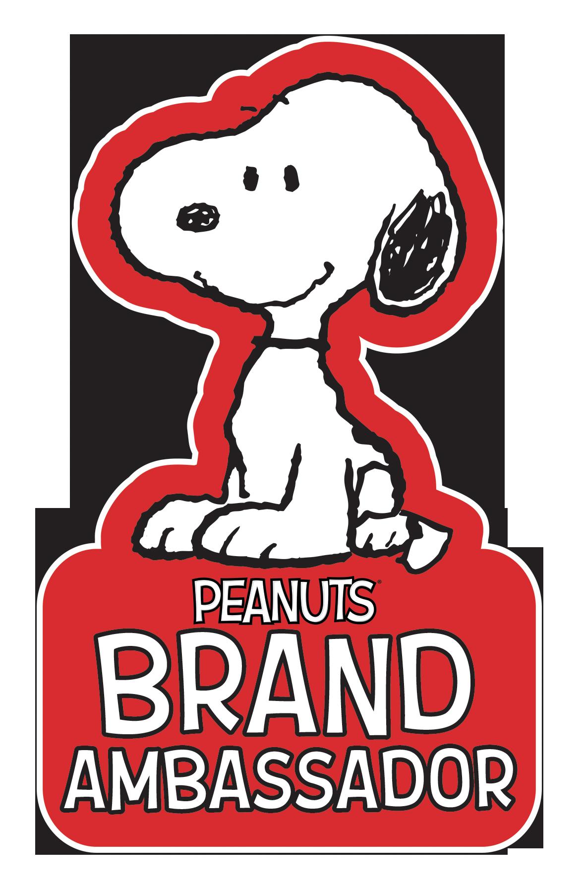 Peanuts Brand Ambassador Badge