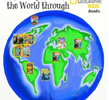 A Journey Around the World through National Geographic Kids Books