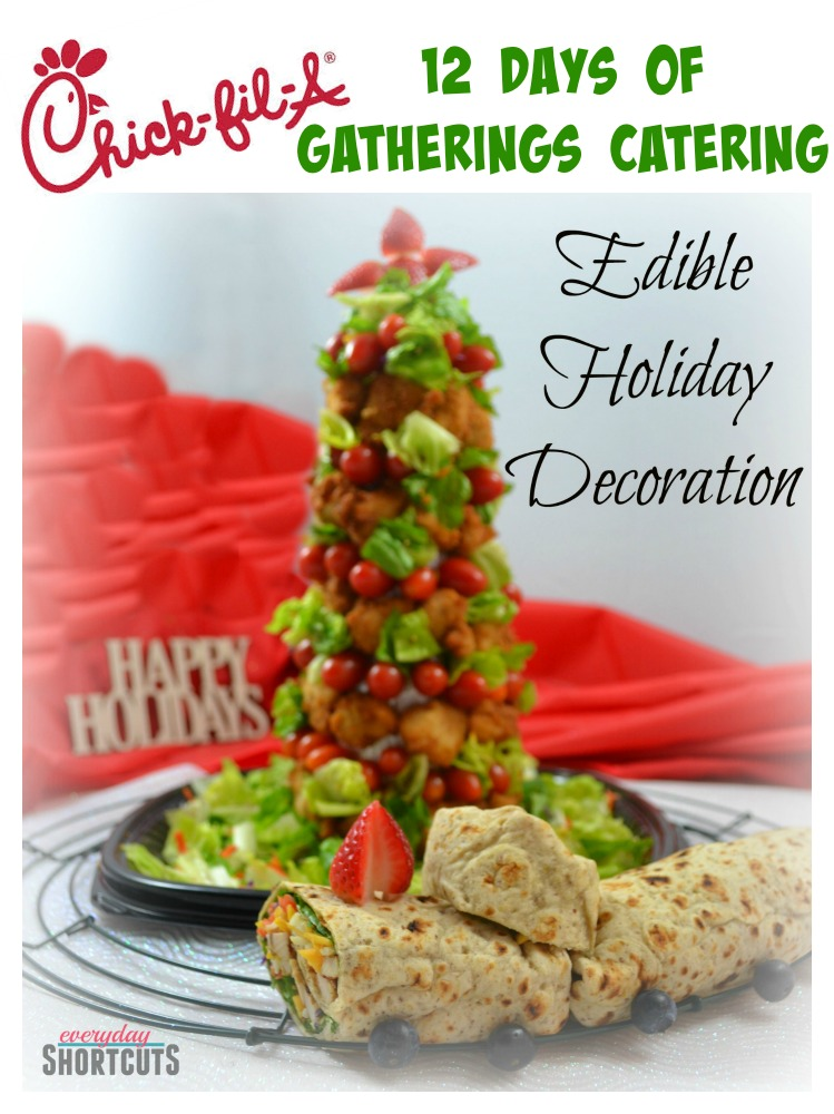 Chick Fil A S 12 Days Of Gatherings Catering Edible Holiday