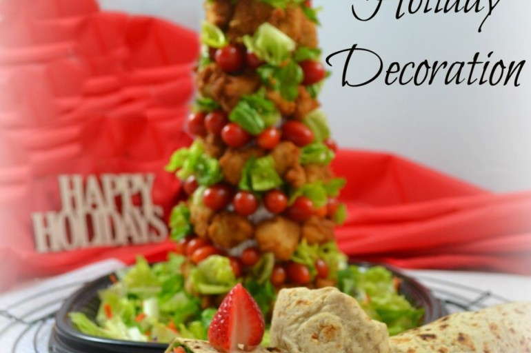Chick-fil-A's 12 Days of Gatherings Catering Edible Holiday Decoration