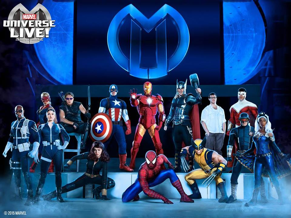 marvel universe live characters
