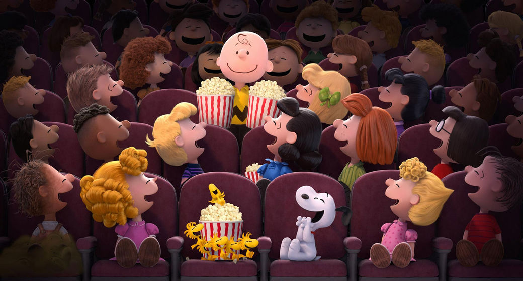 peanuts at the movies