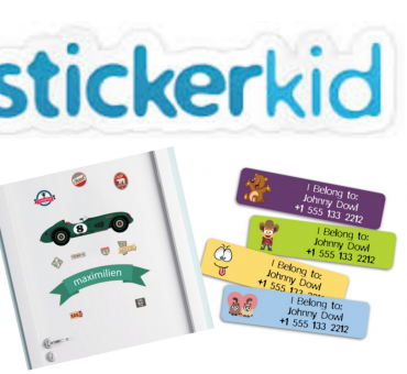 Personalized Kids Labels by Stickerkid
