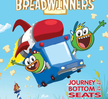 Breadwinners: Journey to the Bottom of the Seats Graphic Novel Available November 17