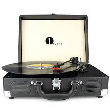 1byone vintage turntable