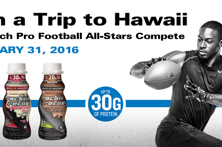 Rockin' Refuel's Football in Paradise Sweepstakes – Grand Prize includes a trip to Hawaii & more!