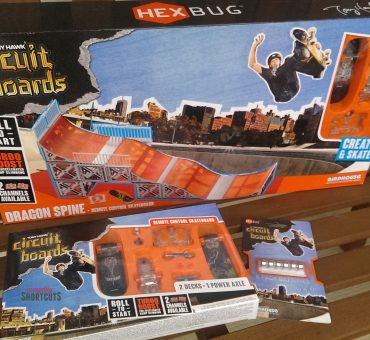 Build the Ultimate Skatepark with Hexbug Tony Hawk Circuit Boards