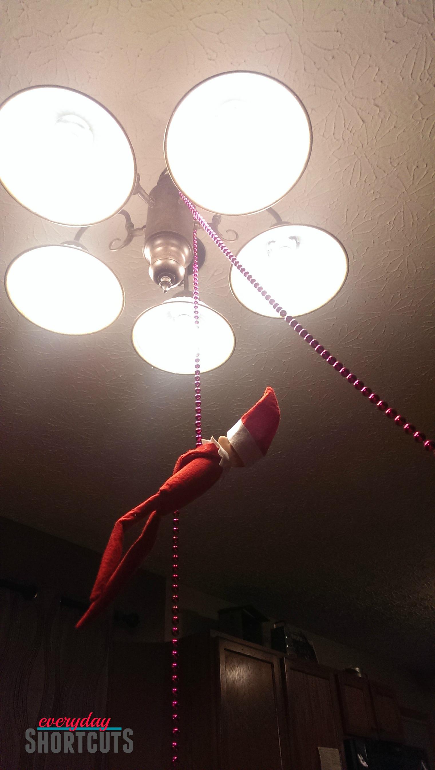 elf on the shelf hanging