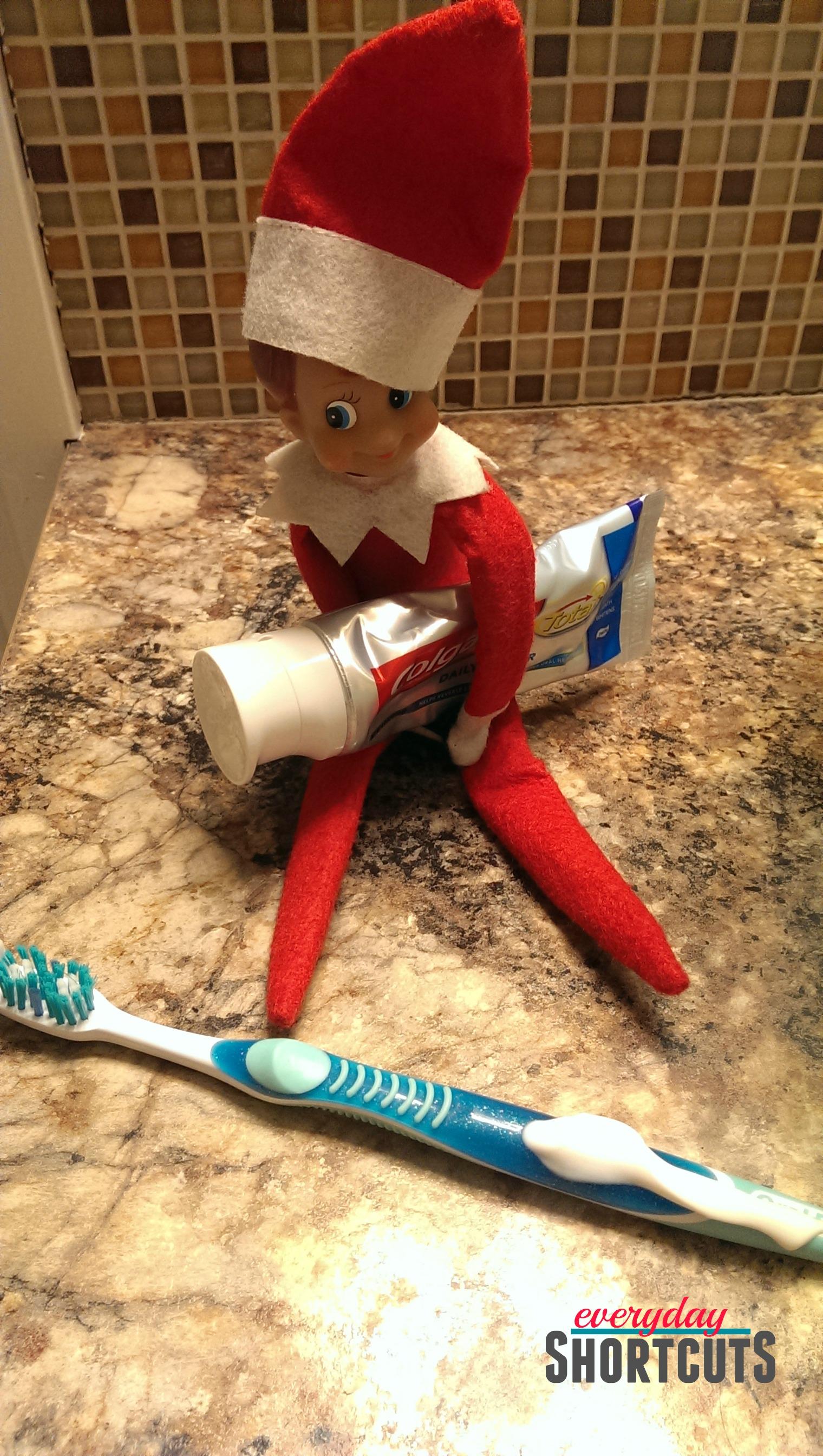 elf-on-the-shelf-toothpaste