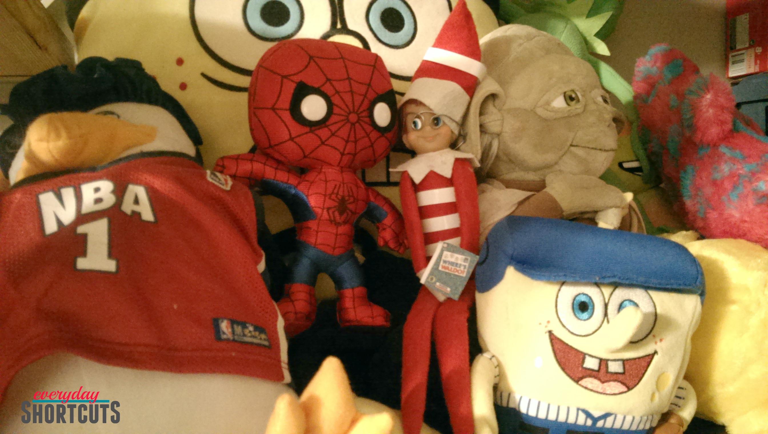 elf on the shelf where's waldo