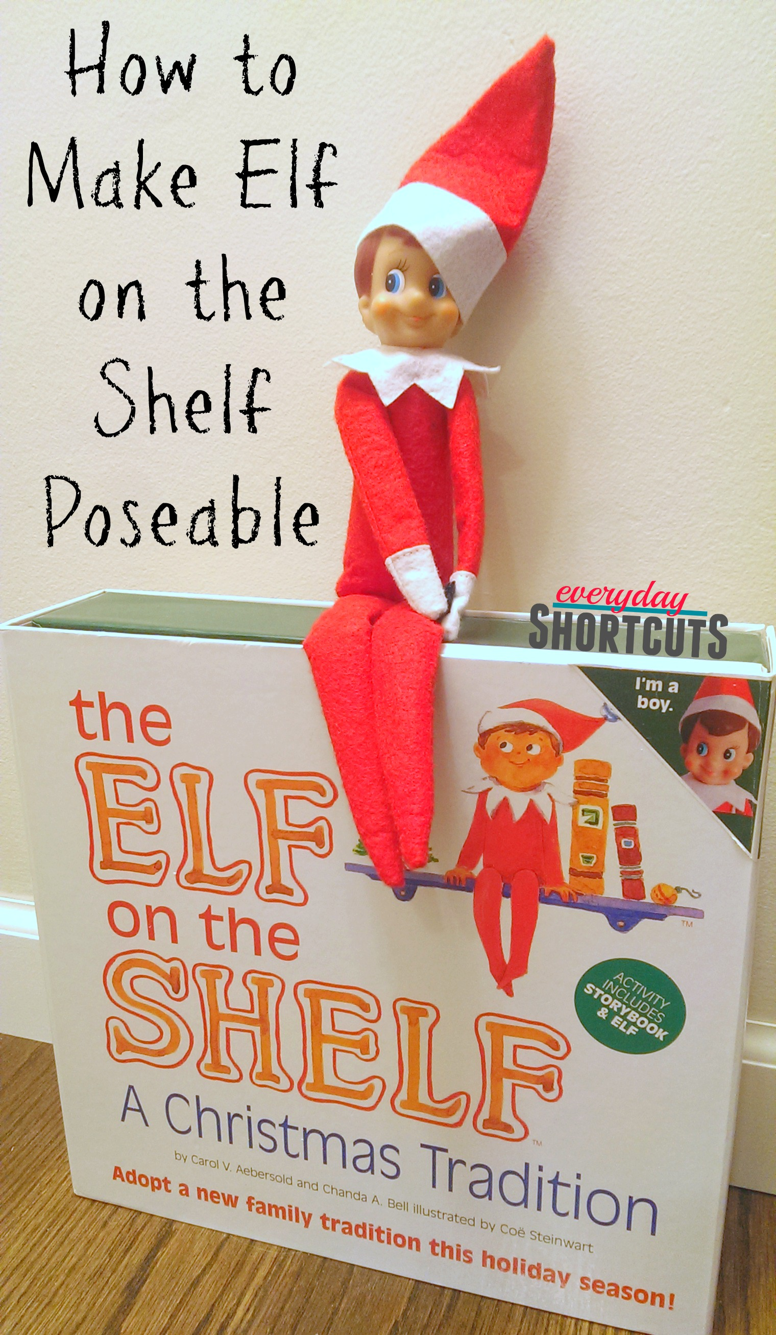 how to make elf on the shelf poseable