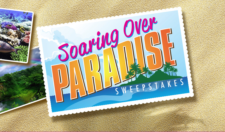 Dole Soaring over Paradise Sweepstakes – Win a Trip to Hawaii