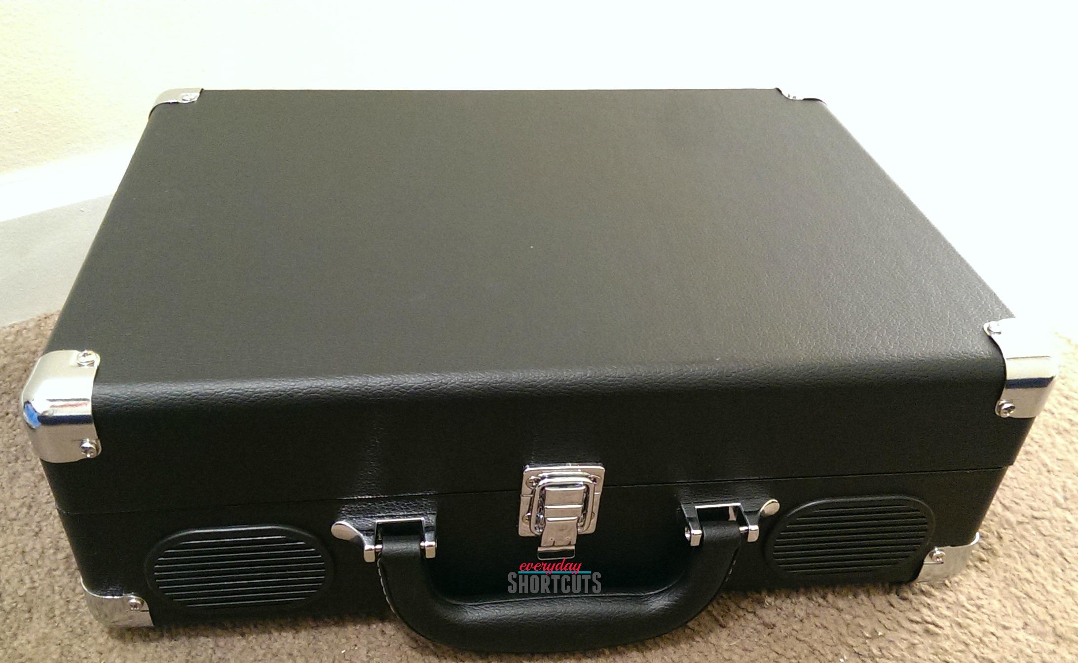 vintage turntable case