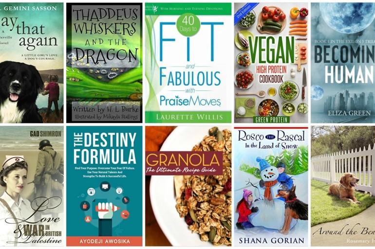 10 Free Kindle Books 1/11/2016