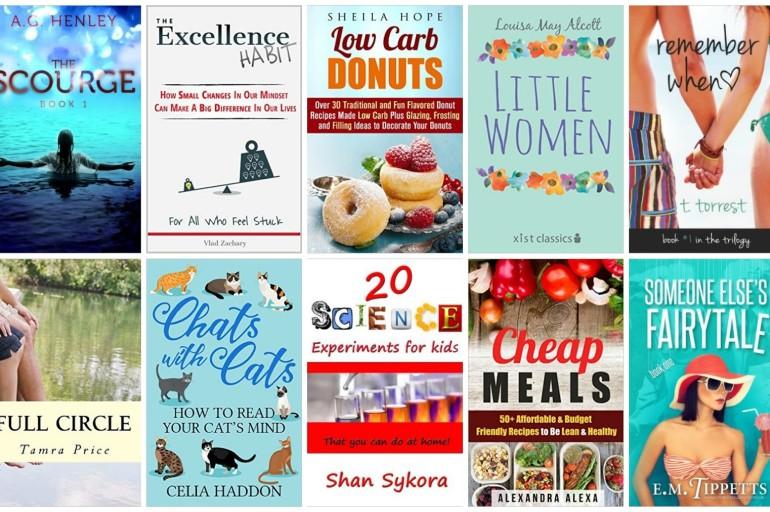 10 Free Kindle Books 1/13/2016