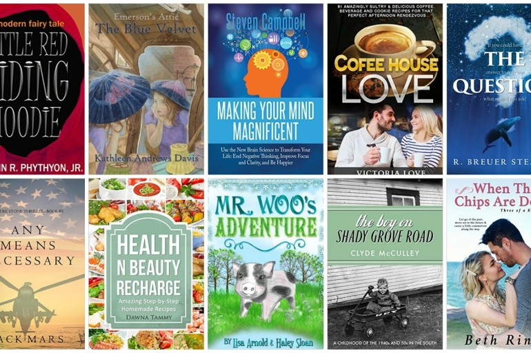 10 Free Kindle Books 1/16/2016