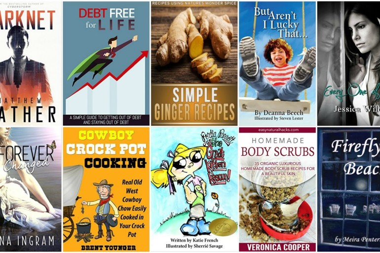 10 Free Kindle Books 1/17/2016