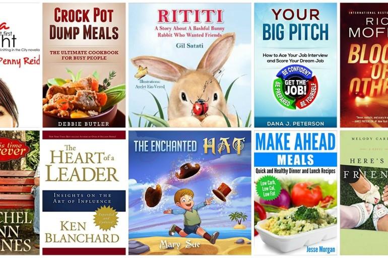 10 Free Kindle Books 1/8/2016