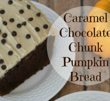 Caramel Chocolate Chunk Pumpkin Bread