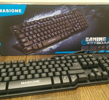 Gaming Keyboard by Masione Review