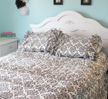 Teen Bedroom Makeover with Beddy's Zipper Bedding