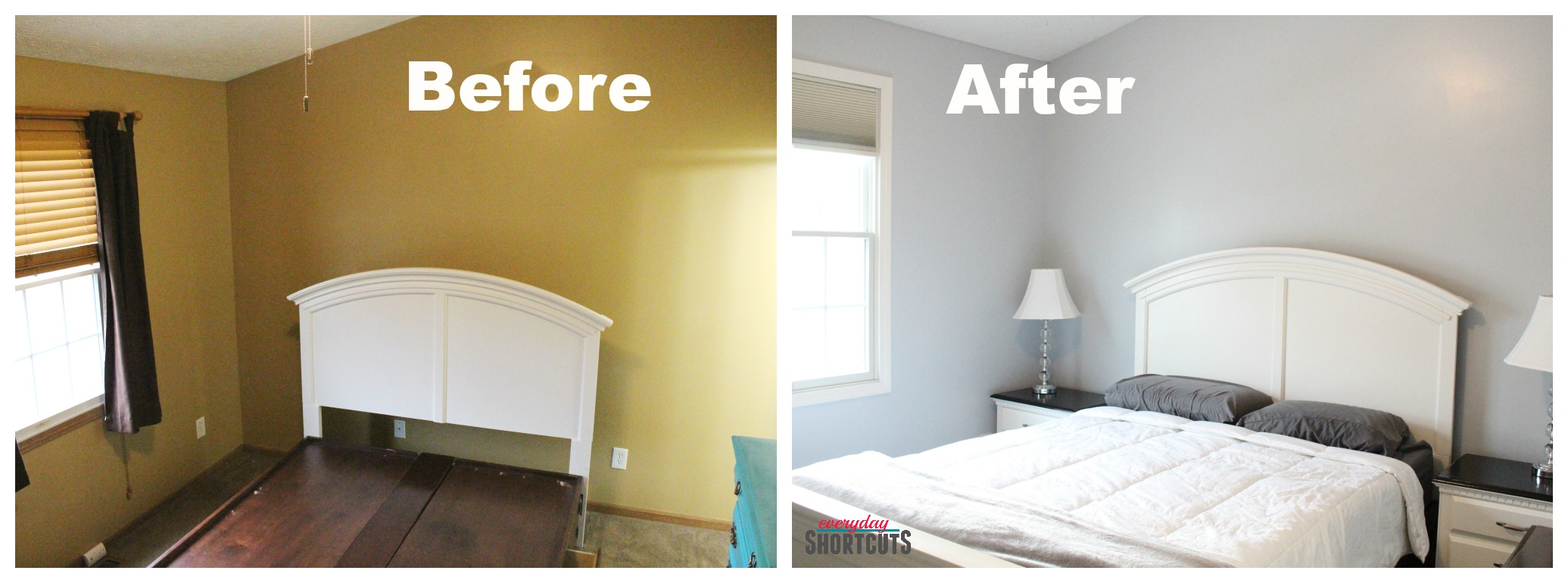 before and after bedroom makeover pictures master bedroom makeover with hgtv home by sherwin williams 20299