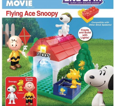Peanuts Flying Ace Snoopy Lite Brix Giveaway