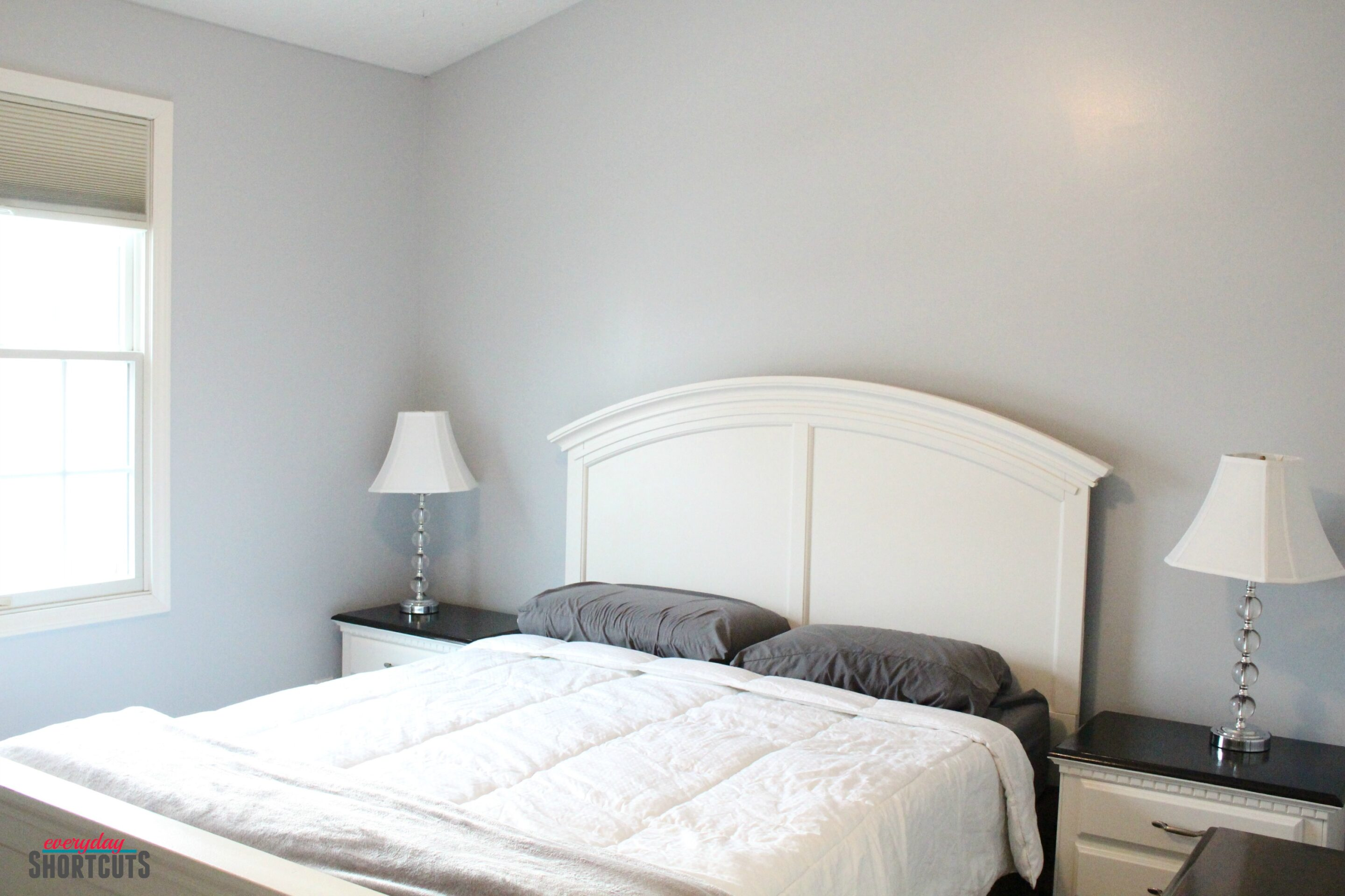 Master Bedroom Makeover with HGTV Home by Sherwin-Williams Paint ...