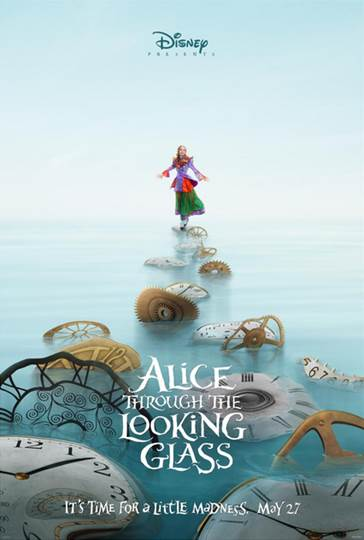 Alice Through the Looking Glass New Teaser Trailer