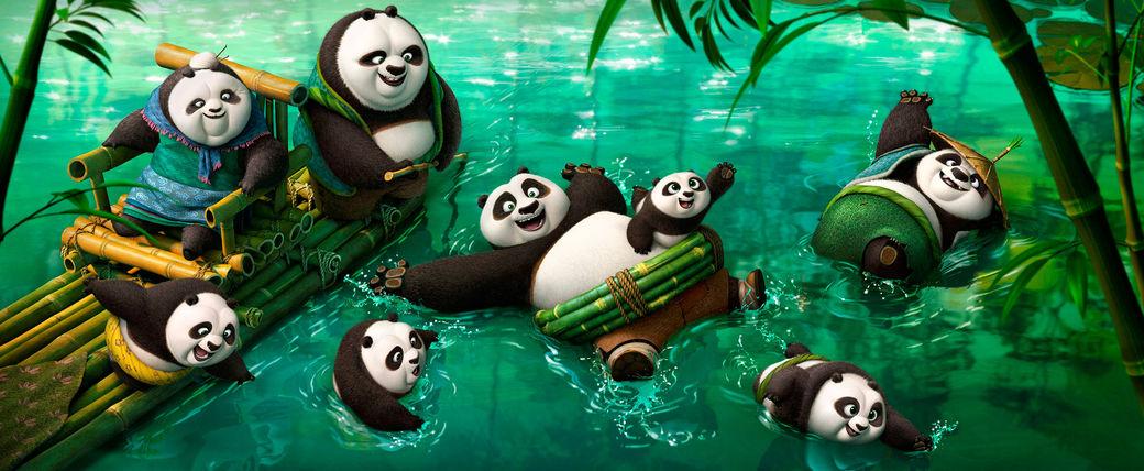 kung fu panda paradise