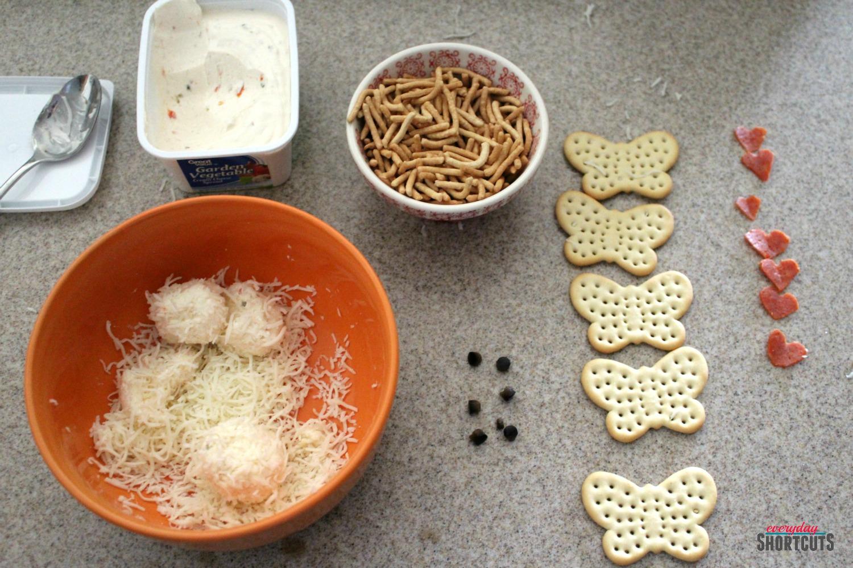 mini cheese ball love bugs ingredients