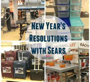Achieve your New Year's Resolutions with Sears + $100 Sears Gift Card Giveaway
