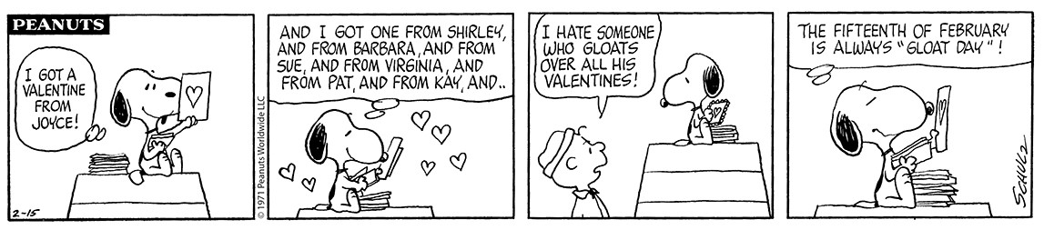 peanut comic strips