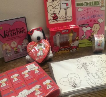 Valentine's Day Celebration with the Peanuts Gang + Giveaway