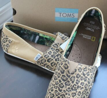 Help Save Big Cats with TOMS New Collection