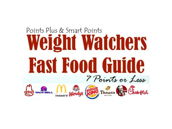 weight watchers fast food guide 7 points or less. Black Bedroom Furniture Sets. Home Design Ideas