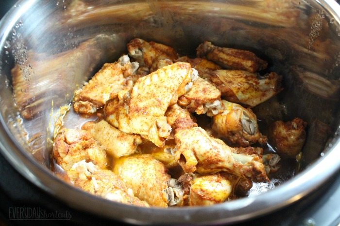 chicken wings in instant pot