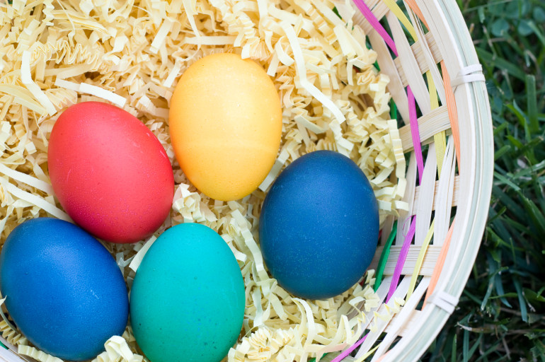 65 non candy easter basket ideas everyday shortcuts for Non traditional easter dinner ideas