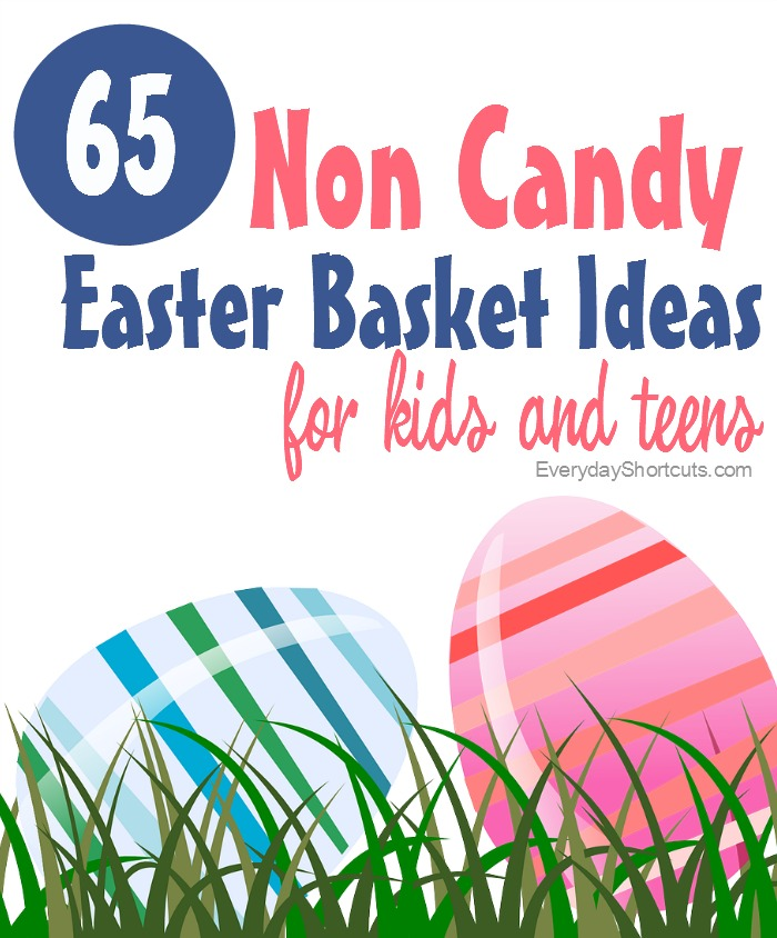 65 non candy easter basket ideas everyday shortcuts non candy easter basket ideas negle Gallery