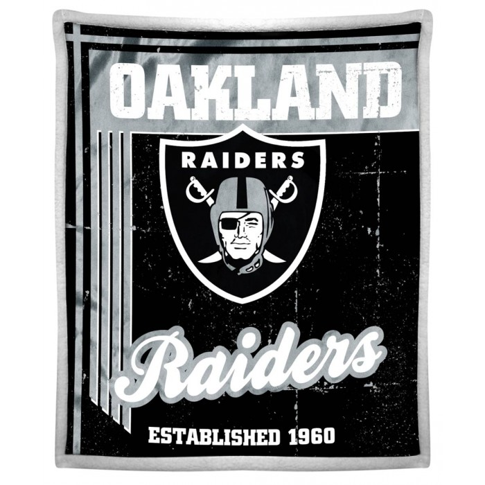 oakland raiders blanket