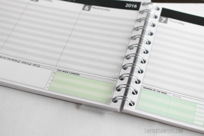 personal-planner-weekly-dinners