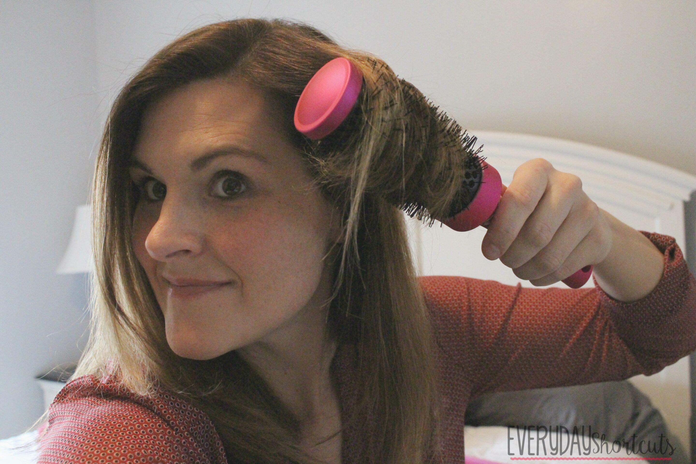 salon hair at home