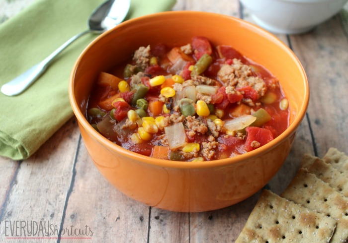 slow-cooker-vegetable-soup-with-crackers