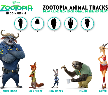 Zootopia Coloring Pages and Activity Sheets #Zootopia